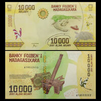 Madagascar 10000 Ariary, ND(2017), P-103 NEW, NEW Design, UNC