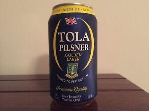 OCOC - empty beer can from Tortola: pilsner (READ DESCRIPTION)