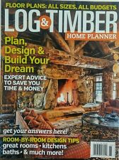 Log Timber Home Planner Plan Design & Build Your Dream Home FREE SHIPPING sb