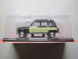 1/24 voiture renault 4L 1962 parisienne collection hachette neuf