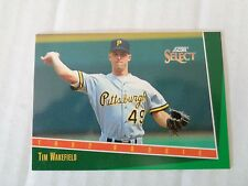 TIM WAKEFIELD 1993 Score Select Rookie Card RC #307 Pirates / Red Sox NM