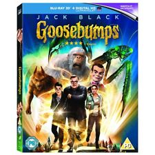 Goosebumps - Blu-ray 3d 2016 Jack Black