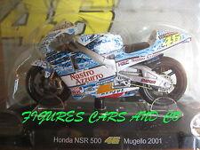 MOTO GP 1/18 HONDA NSR 500 # 46 COLLECTION VALENTINO ROSSI MUGELLO 2001