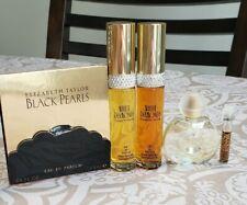ELIZABETH TAYLOR Perfume Fragrance Lot White Diamonds, Forever, Black Pearls