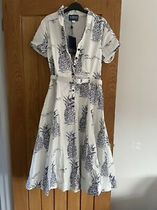 Collectif Vintage Ladies Dress Size 14