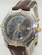 1996 Stainless Steel & Gold Breitling Chronomat Windrider Chronograph B13048