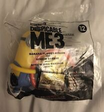 Mcdonald's 2017 Despicable Me 3 Minions Happy Meal Toy #12 BANANA FLIPPER MINION