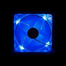 Yate Loon 140mm Blue LED Fan, Low Speed (D14SL-124B) - FREE SHIPPING!