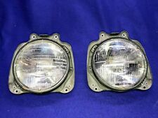 1977 1978 Ford Fiesta Right AND Left Headlight Assemblies.. Pair Very Nice!