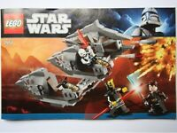 LEGO® INSTRUCTIONS ONLY - Sith Nightspeeder - STAR WARS - 7957 -