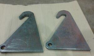 Pair of Massey Ferguson, MF, Faucheux Loader Brackets from 25mm Steel
