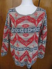 Denim & Supply Ralph Lauren women's multi color cotton sweater Xlarge NWT