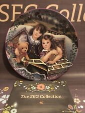Kindred Moments Plate, 'Sisters Stay Close At Heart' Bradford Exchange Poulin 95