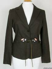 Mexx Ladies Mid-Brown Linen Jacket NEW with tags -  Small 16