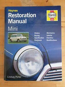 Haynes Mini (1959-2000) Restoration Manual (2009 edition) Lindsay Porter