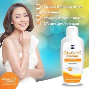 Intense Whitening SPF25 Body Lotion 300ml +glutathione &vitamin C