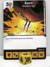 DC Dice Masters - #063 Ranx Sentient City - War of Light