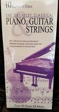 The Greatest Classical Piano, Guitar Strings - 10 CD Set - NEW - 2003 10 Hours