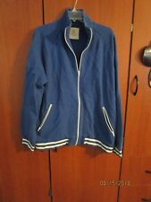 Old Navy Jacket Sweat Zipper Front Sz XL Chest 50 Length 30 in Cotton Polyester