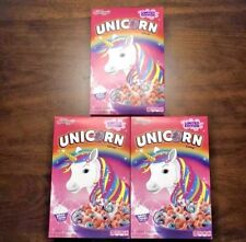 Kellogg's Limited Edition Unicorn Cereal 10oz  set of 3 Boxes