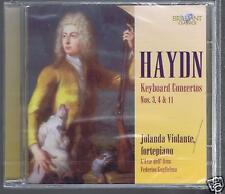 HAYDN CD NEW KEYBOARD CONCERTOS 3.4.11/ JOLANDA VIOLANTE / FEDERICO GUGLIELMO