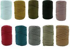 5 meter Makramee Garn Nylon Schnur Shamballa 5mm 10 Verschiedene Farben