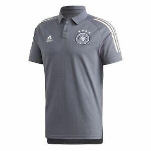 Adidas Fußball DFB Poloshirt Herren onyx weiß