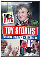 James Mays Toy Stories: Balsa Wood Glide -Great Train Race [DVD][Region 2]