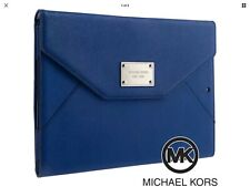 Michael Kors iPad Mini Cover Clutch Sapphire Blue Mini Retina Leather Case Cover