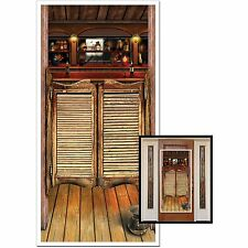 Wild West Cowboy SALOON DOOR COVER Western Party Decoration Photo Prop