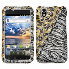 For LG Marquee Crystal Diamond BLING Hard Case Snap On Phone Cover Hottie