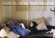 Coupure de presse Clipping 2001 Marie Gillain (6 pages)