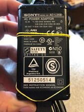 Genuine OEM Sony AC-L25B 8.4V 1.7A AC Adapter Charger w/ Power Cord