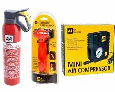 AA Fire Extinguisher Powder 950g Bsi App Car Home Caravan Van Portable Compact N