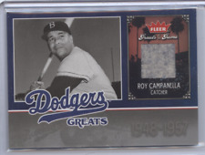 ROY CAMPANELLA 2006 FLEER GREATS OF THE GAME RELIC SP DODGERS