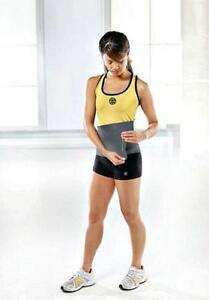 New Gold's Gym Adjustable Waist Trimmer Belt - Size Fits up to a 50 inch Waist!