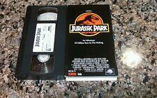 JURASSIC PARK RARE VHS TAPE! VINTAGE 1997 FIRST FILM! SAM NEILL