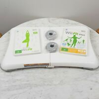 NINTENDO Wii Balance Board + Wii Fit + Wii Fit Plus PAL Video Game Bundle