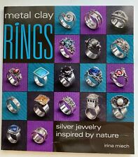 Metal Clay Rings Silver Jewelry Inspired By Nature By Irina Miech