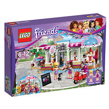 41119 LEGO Heartlake Cupcake Café Friends Age 6-12 / 439 Pcs / NEW 2016 RELEASE!