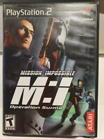 Mission: Impossible: Operation Surma (Sony PlayStation 2, PS2)
