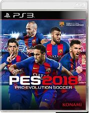 PES Pro Evolution Soccer 2018 PS3 Originale ITA  Digitale + 2 PATCH AGGIORNATE