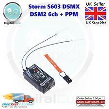 Storm S603 DSMX DSM2 Spektrum Compatible Full Range Receiver 2.4Ghz 6CH + PPM