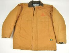 Heavy STEELGUARD Quilt lined Duck Canvas Work Coat ConAgra Mills M Heavy Duty