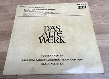 25cm Bach Wachet auf, ruft uns die Stimme Kantate 140 Karl Richter Decca NM