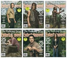 2016 Entetainment Weekly The Walking Dead Returns Complete 6 Cover Set!