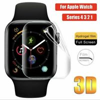Screen Protector For Apple Watch Series 1 2 3 4 Cover Screen Hydrogel Film