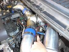 "4"" Air Intake Pipe Kit For 99-03 Ford 7.3L PowerStroke Diesel Stock GTP38  Black"