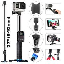 Telescopic Extendable Monopod Selfie Pole Handheld Stick for GoPro Hero 4 3+ 3 2