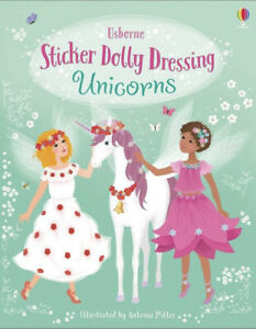 Sticker Dolly Dressing Unicorns by Fiona Watt New Book Kids Children's Books